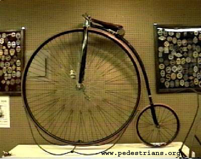 Photo - historic bicycle